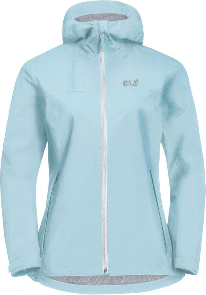 Jack Wolfskin kurtka damska Jwp Shell L Light blue