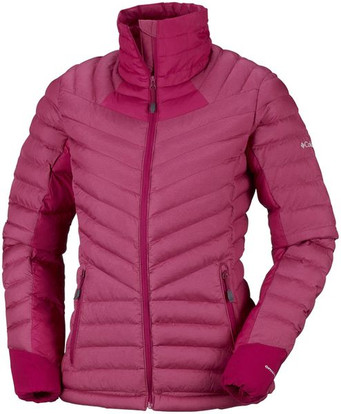 Columbia Kurtka Damska Windgates Jacket Pomegranate Heather L