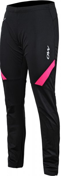 One Way Spodnie Damskie Ranya Softshell Pants Black/Pink Xs