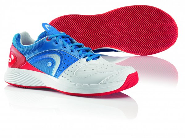 Head Buty Do Tenisa Sprint Team Clay Men Blue/White/Red 47,0
