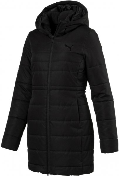 Puma Kurtka Damska Ess Hooded Padded Coat Black S