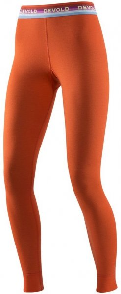 Devold Spodnie Damskie Hiking Woman Long Johns Brick M
