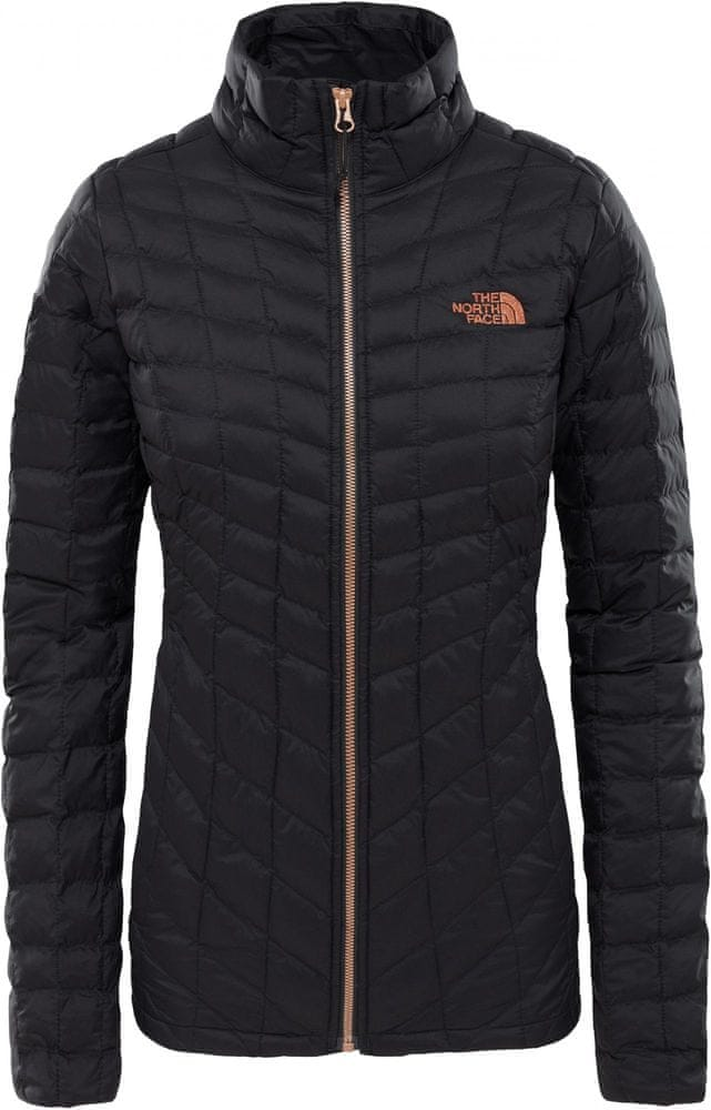 The North Face kurtka ocieplana damska Women'S Thermoball Full Zip Jacket TNF Black/Metallic Copper S
