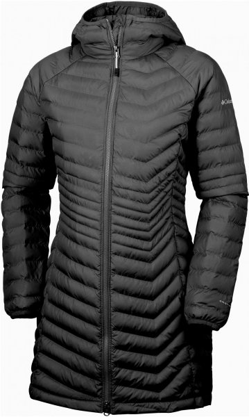 Columbia Kurtka Damska Powder Lite Mid Jacket Black Xs