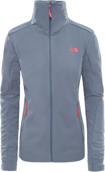 The North Face Kurtka Damska Women'S Inlux Softshell - Od Grisaille Grey L
