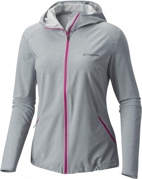 Columbia Kurtka Damska Heather Canyon Softshell Jacket Grey Ash Heather Xs