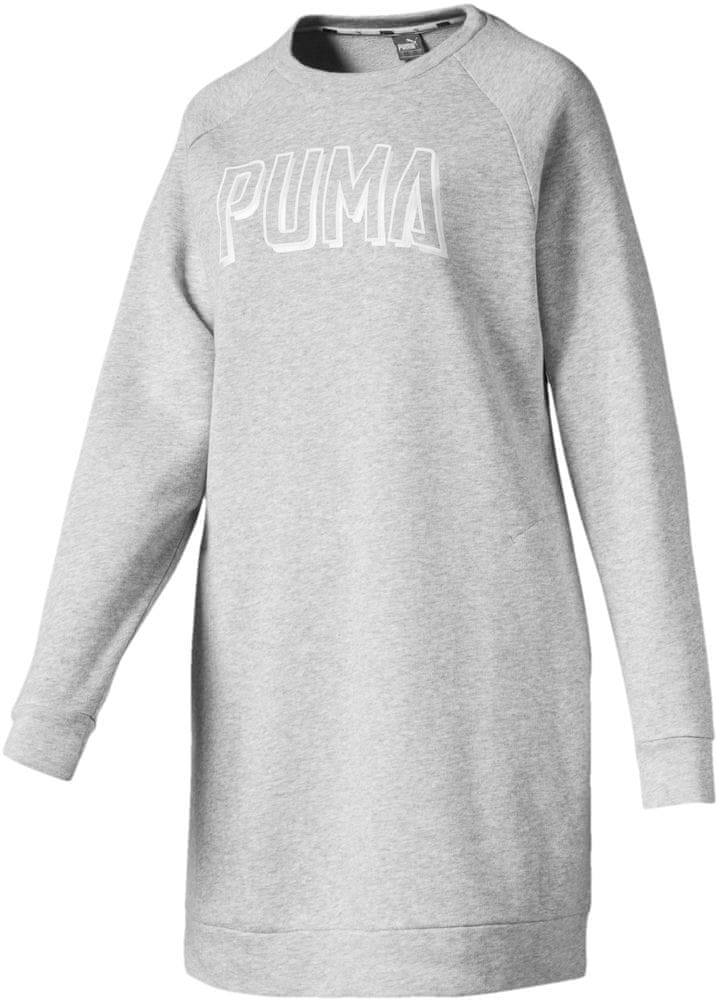 Puma sukienka damska Athletics Dress Tr Light Gray Heather M