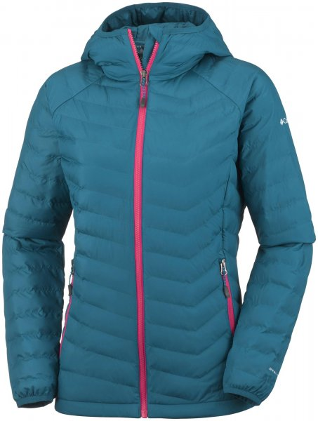 Columbia Kurtka Damska Powder Lite Hooded Jacket Phoenix Blue Xs