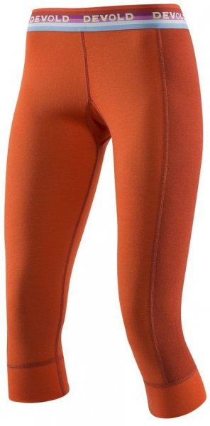 Devold Spodnie Damskie Hiking Woman 3/4 Long Johns Brick M