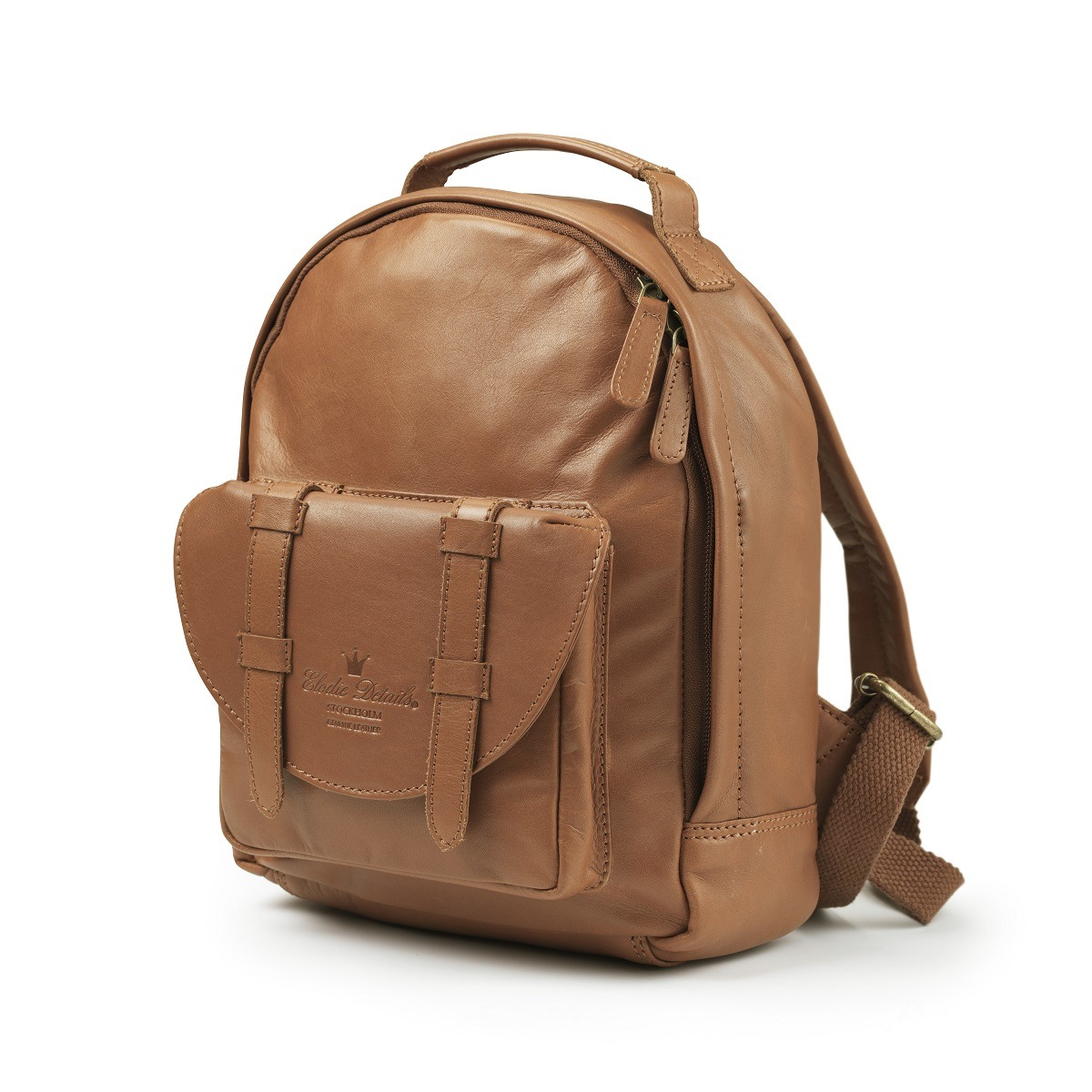 Elodie Details – BackPack MINI – Chestnut Leather