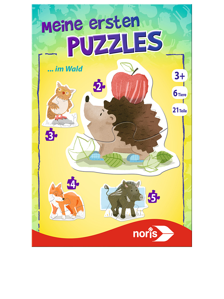 21-elementowe puzzle Noris &;In the Woods&; - 4000826014577