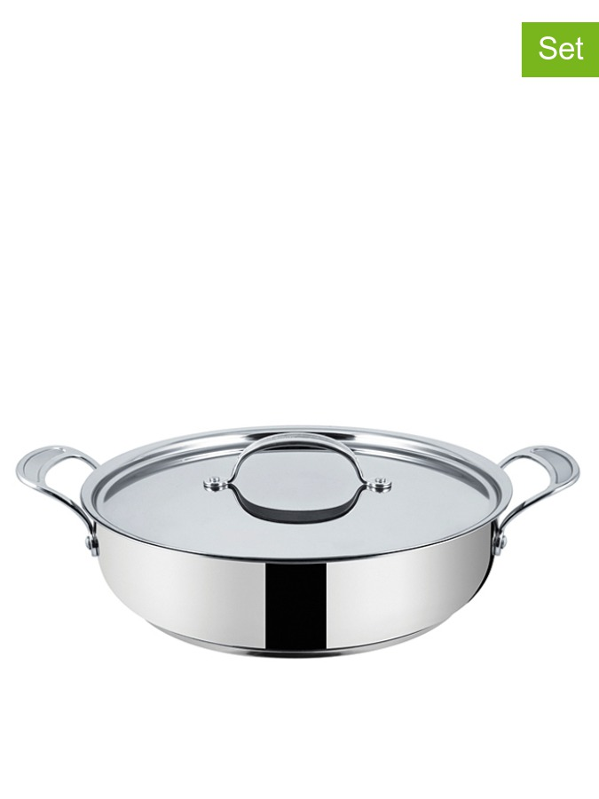 Brytfanka &;Inox Induction&; z pokrywką - Ø 30 cm - 3168430219243