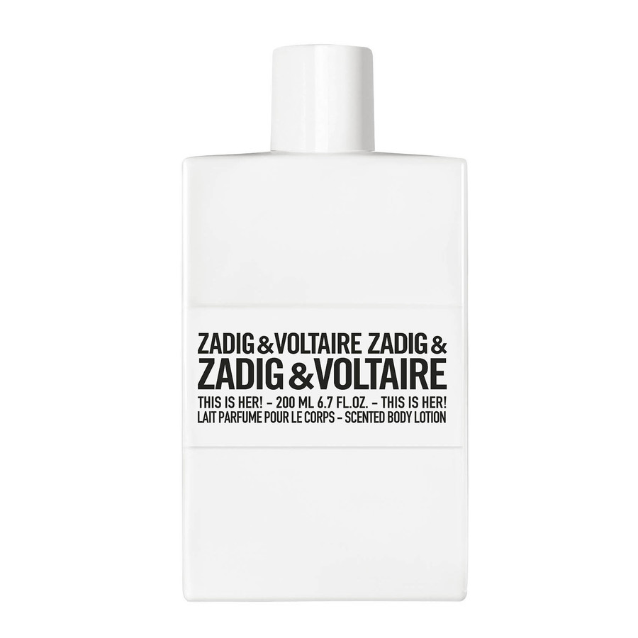 Zadig & Voltaire This is Her Balsam do ciała 200.0 ml