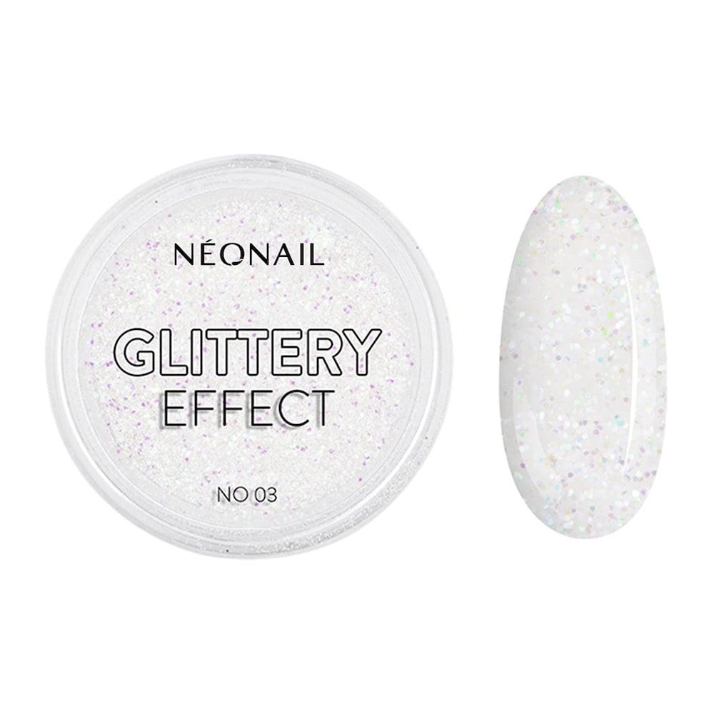 Neonail Akcesoria Puder Glittery Effect No.03 Stylizacja paznokci 2.0 g