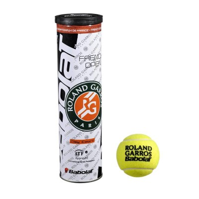 PIŁKI French Open Clay Court - BABOLAT 3324921224039