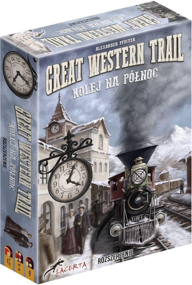 Great Western Trail: Kolej na Północ LACERTA