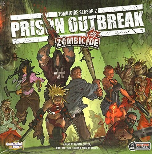 Asmodee Zombicide - Prison Outbreak (p 2) (po angielsku) 002 286