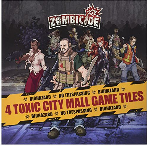 Asmodee Zombicide - Toxic City Mall Tiles P. (po angielsku) 901 567 - 901567