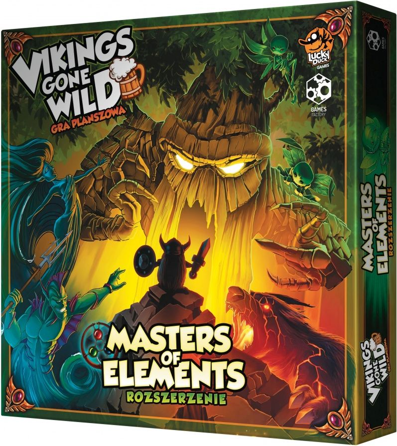 Vikings gone wild- Masters of Elelments