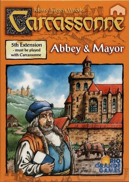 BARD Gra Carcassonne Roz.5 Opactwo i - 0044