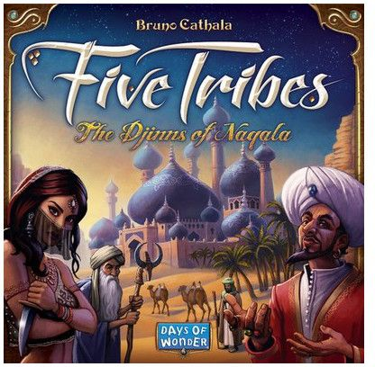 Asmodee Five Tribes (po angielsku)