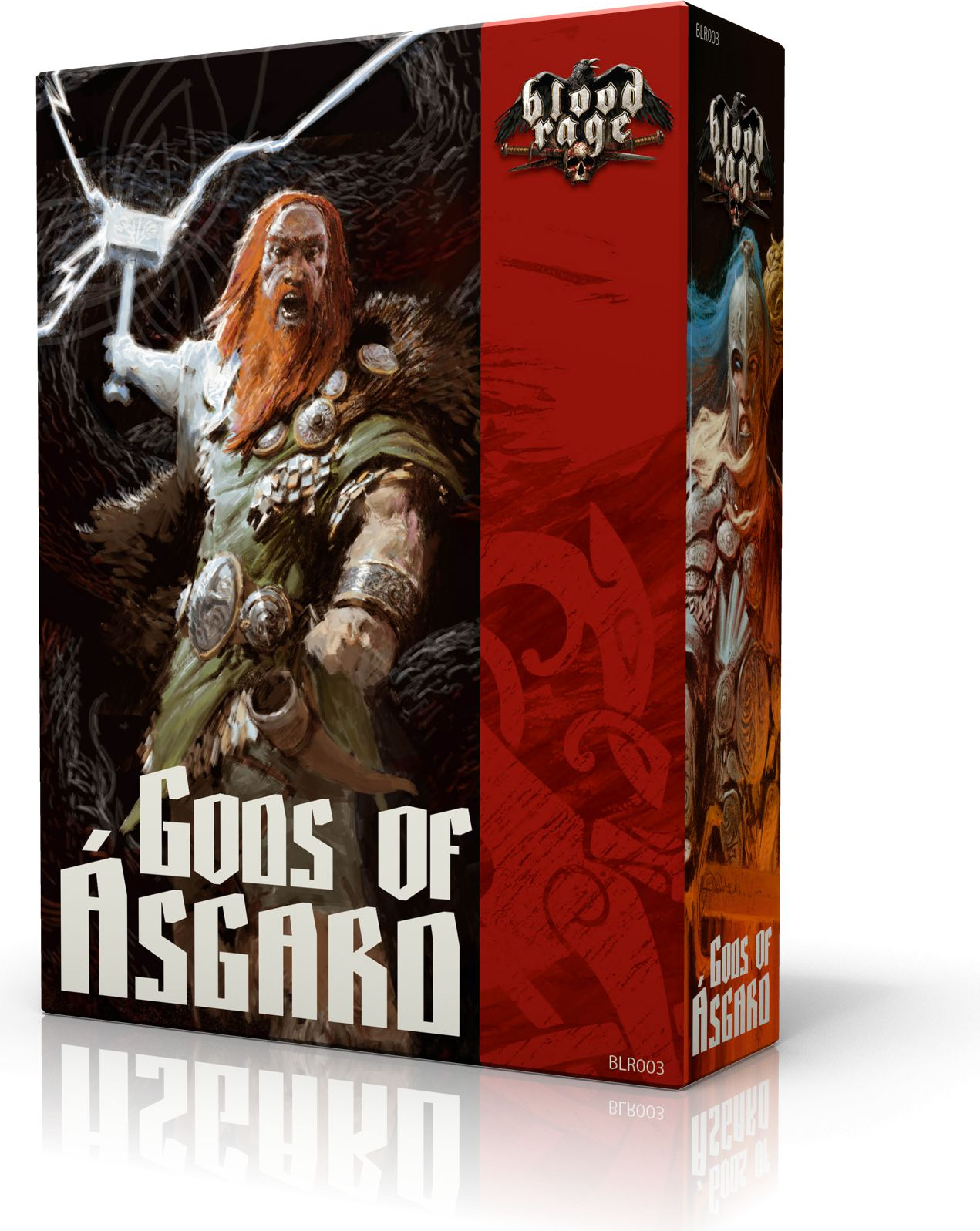 Blood Rage: Bogowie Asgardu (233761)