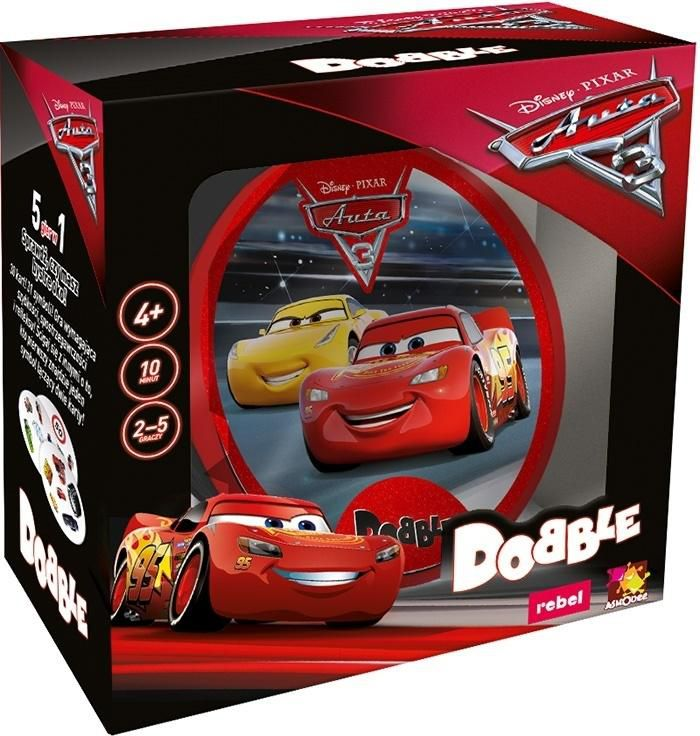 Dobble Auta 3 REBEL - 265465