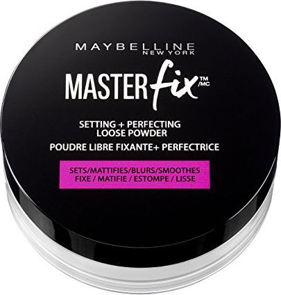 Puder Maybelline  Master Fix Setting + Perfecting Loose Powder puder transparentny 6g