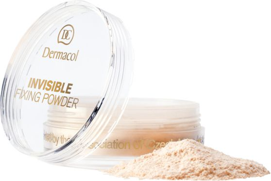 Puder Dermacol Invisible Fixing Powder Natural Puder transparentny 13g