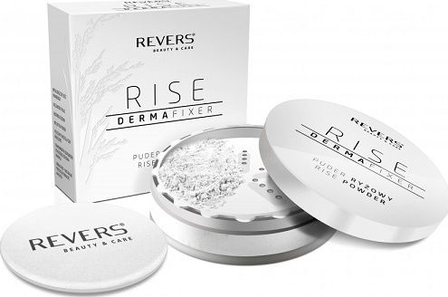 Puder REVERS Puder ryżowy rise derma fixer 15g