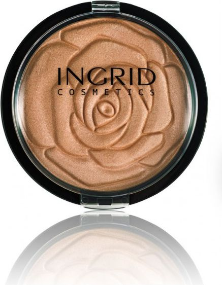Puder INGRID Puder brązujący do twarzy w kamieniu HD Beauty Innovation Bronzing 25g