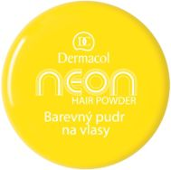 Puder Dermacol Neon Hair Powder Puder do włosów Yellow 2g