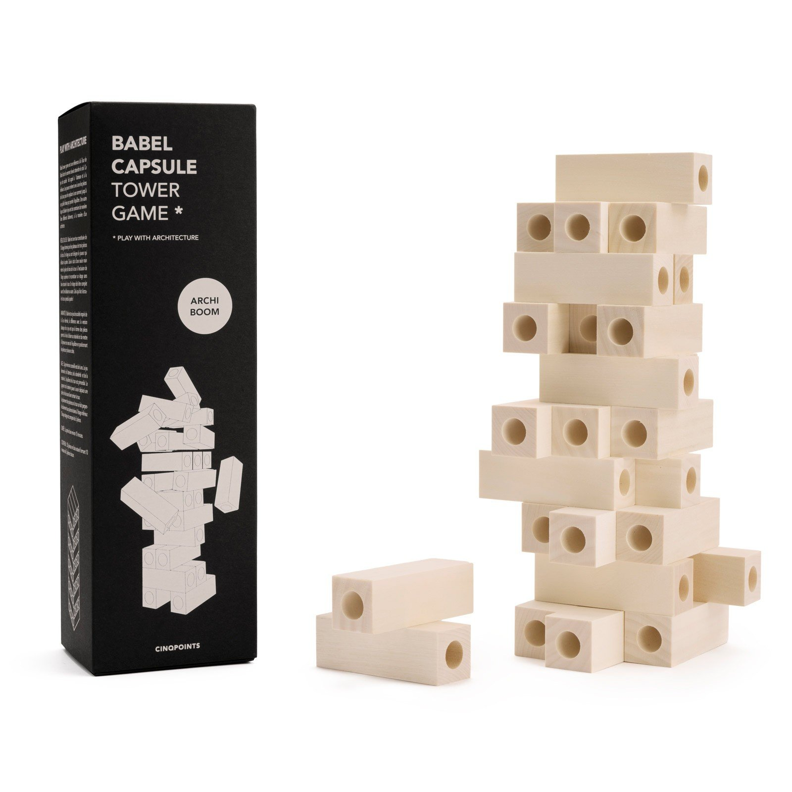 Gra Babel Tower Game Capsule - 50017