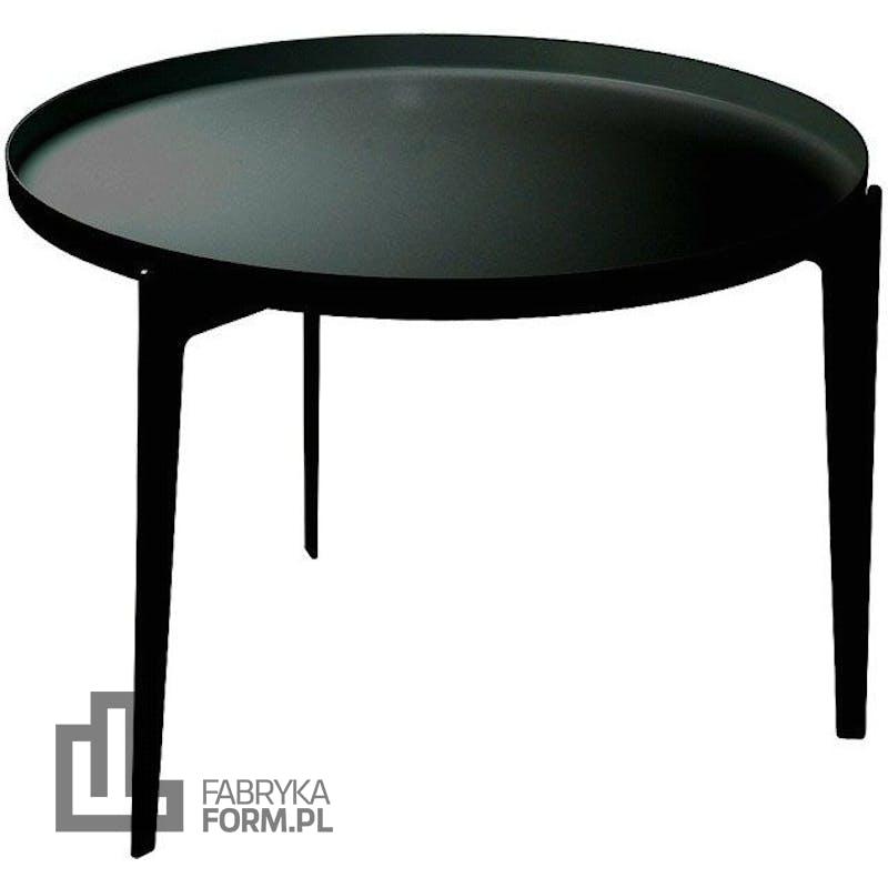 Stolik kawowy Illusion czarny duży