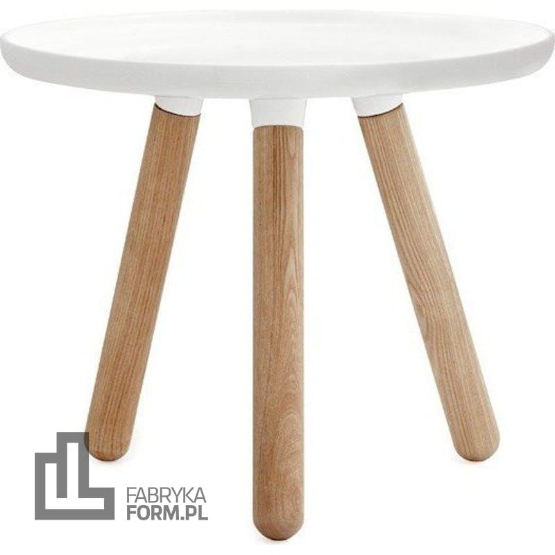 Stolik Tablo 50 cm biały