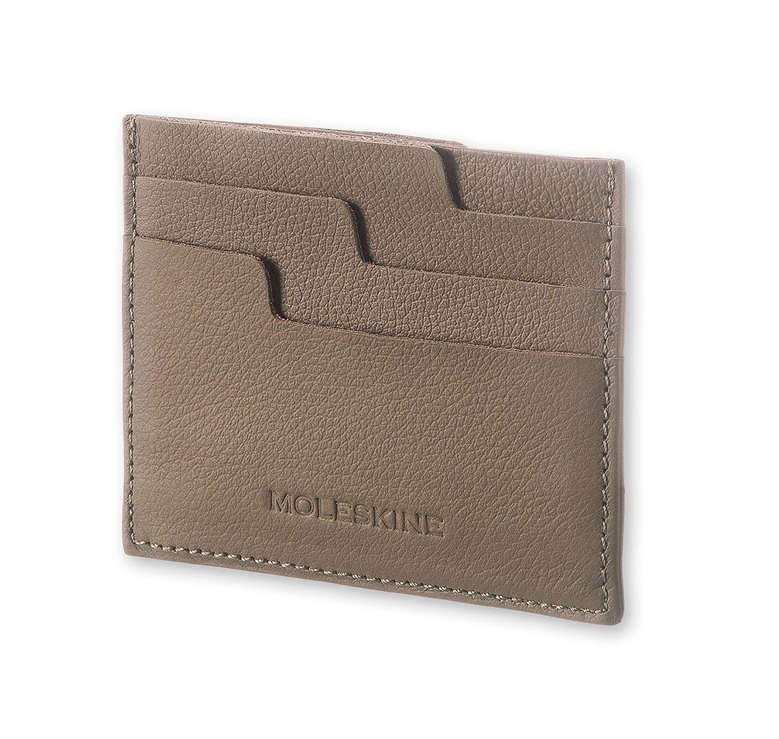 Etui na karty Moleskine Card Wallet Lineage taupe - 47569
