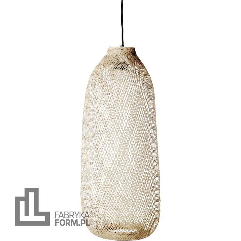 Lampa wisząca Bloomingville 25 cm bambusowa
