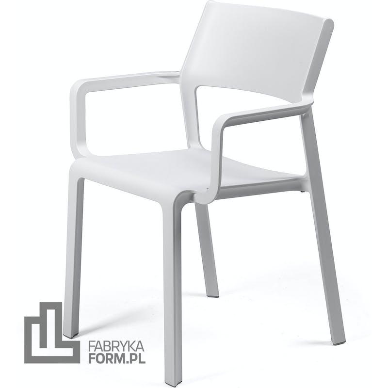 Krzesło ogrodowe Trill Armchair białe