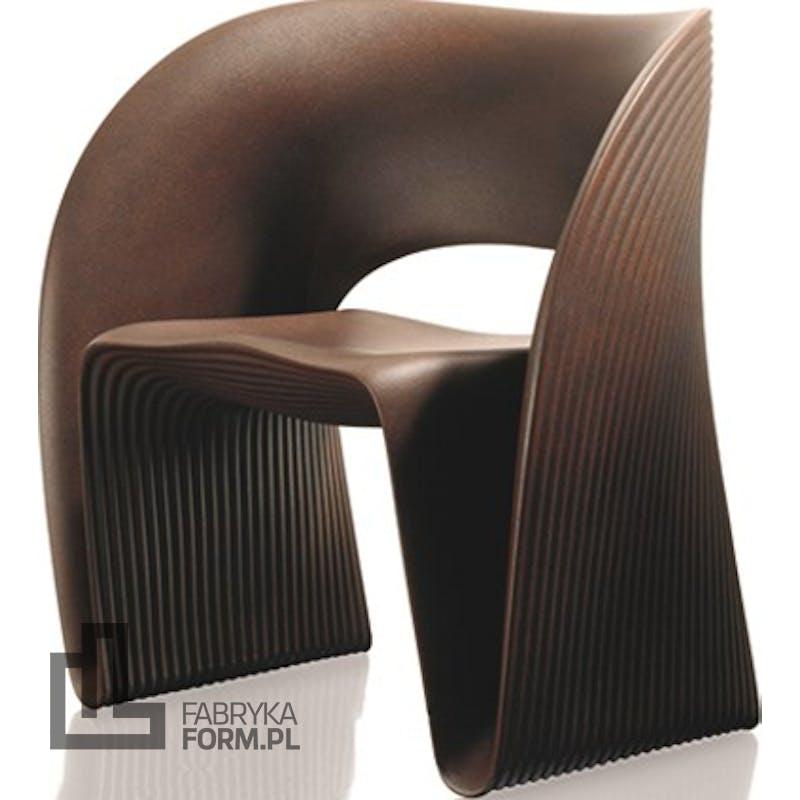 Fotel Raviolo brązowy
