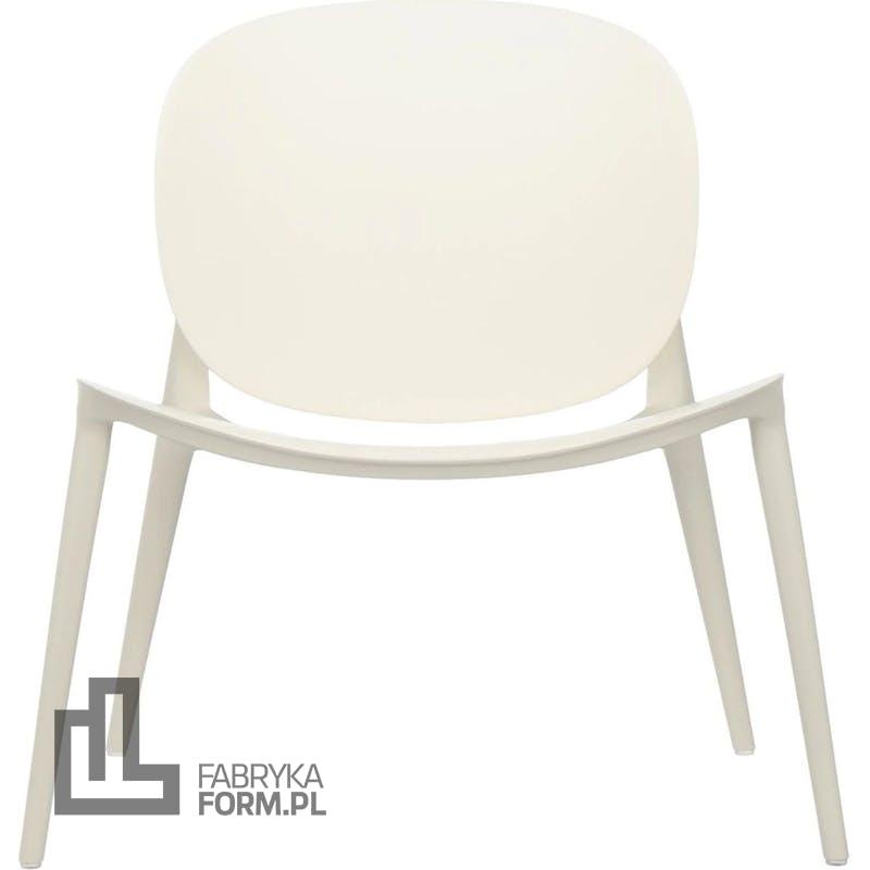 Krzesło Be Bop matowe białe