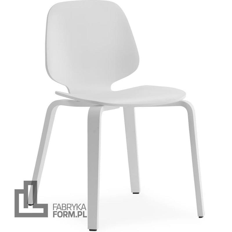 Krzesło My Chair białe