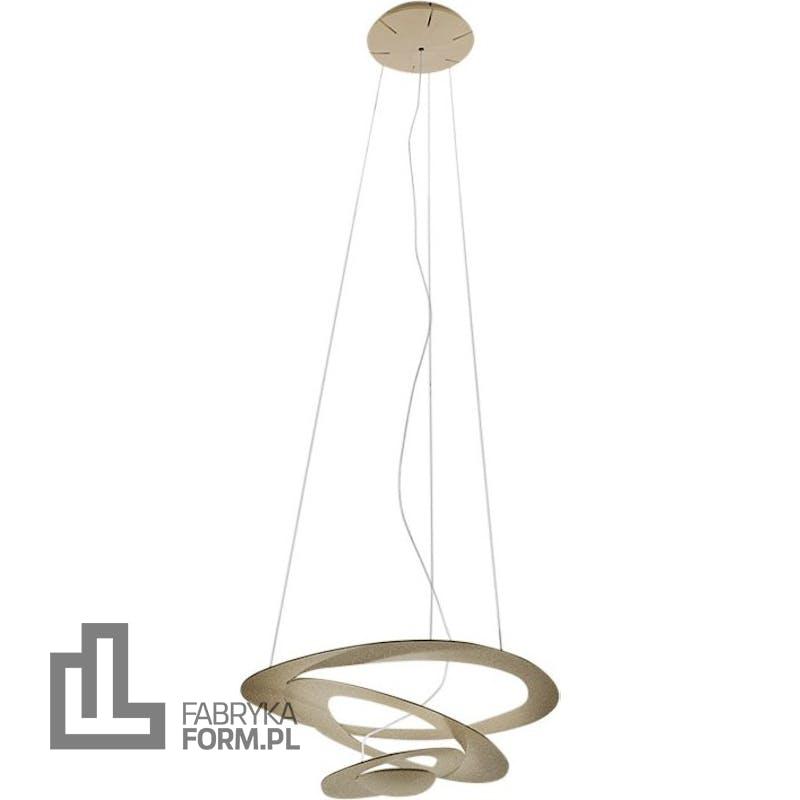 Lampa wisząca Pirce Micro LED 3000 K złota