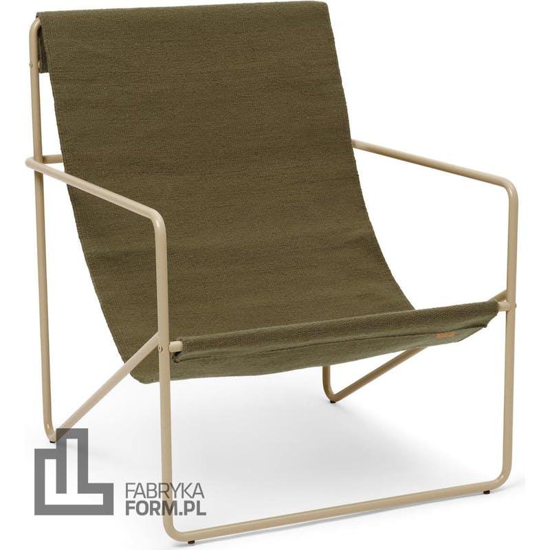 Krzesło Desert Olive beżowa rama