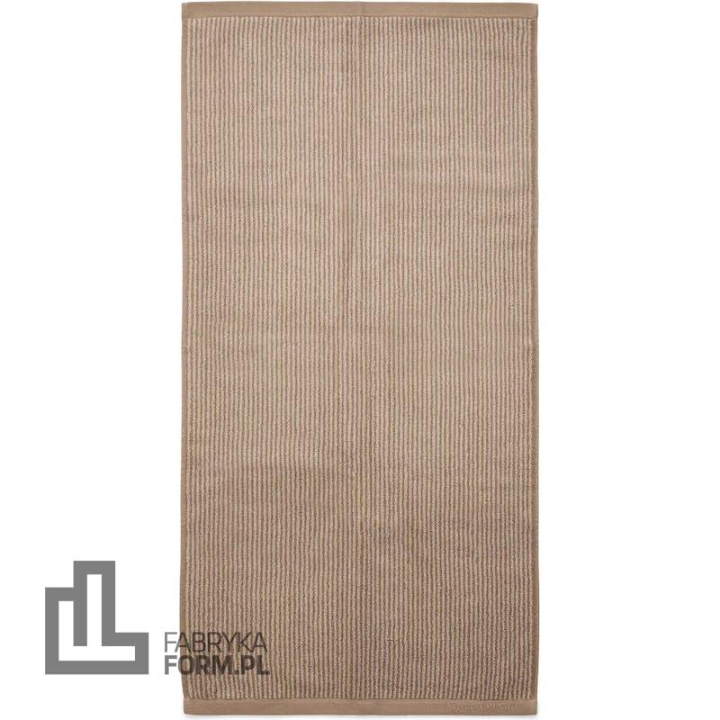 Ręcznik Timeless Tone Stripe 70 x 140 cm beżowo-brązowy