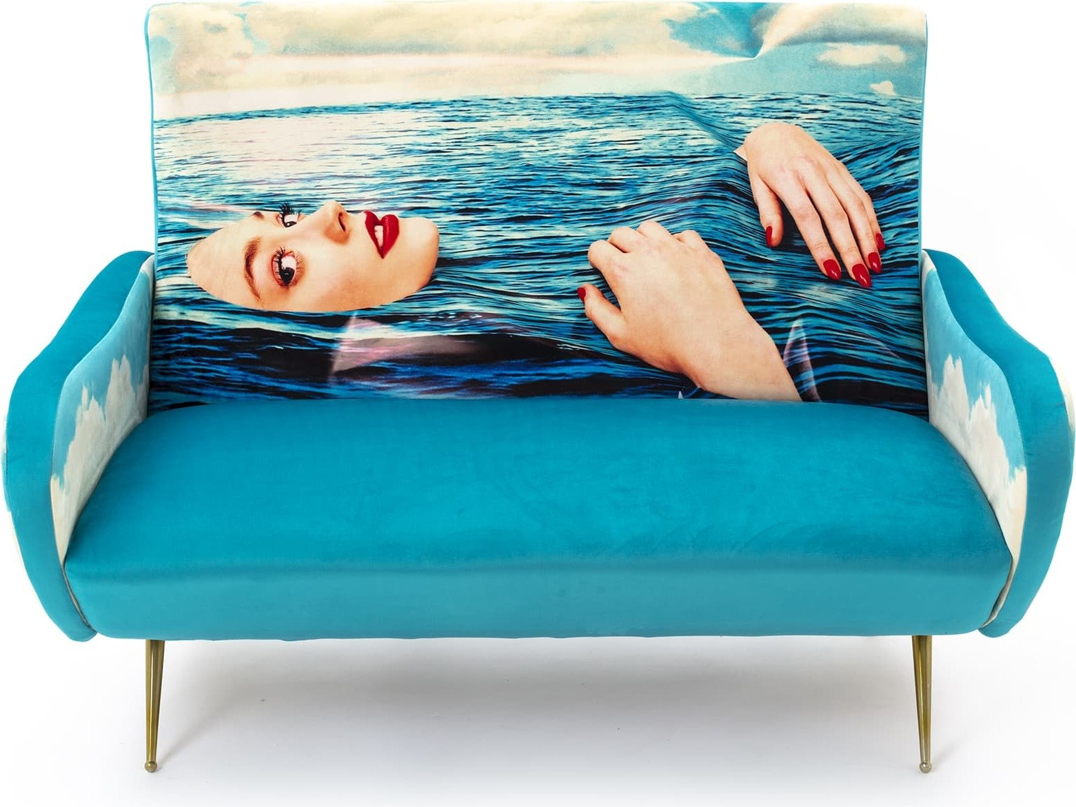 Sofa dwuosobowa Seletti Wears Toiletpaper Sea Girl