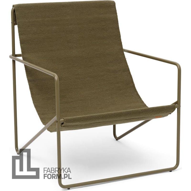 Krzesło Desert Olive z oliwkową ramą