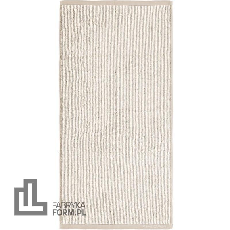 Ręcznik Timeless Tone Stripe 70 x 140 cm beżowo-biały
