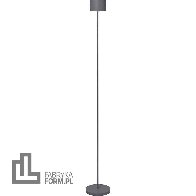 Lampa stojąca Farol warm gray LED