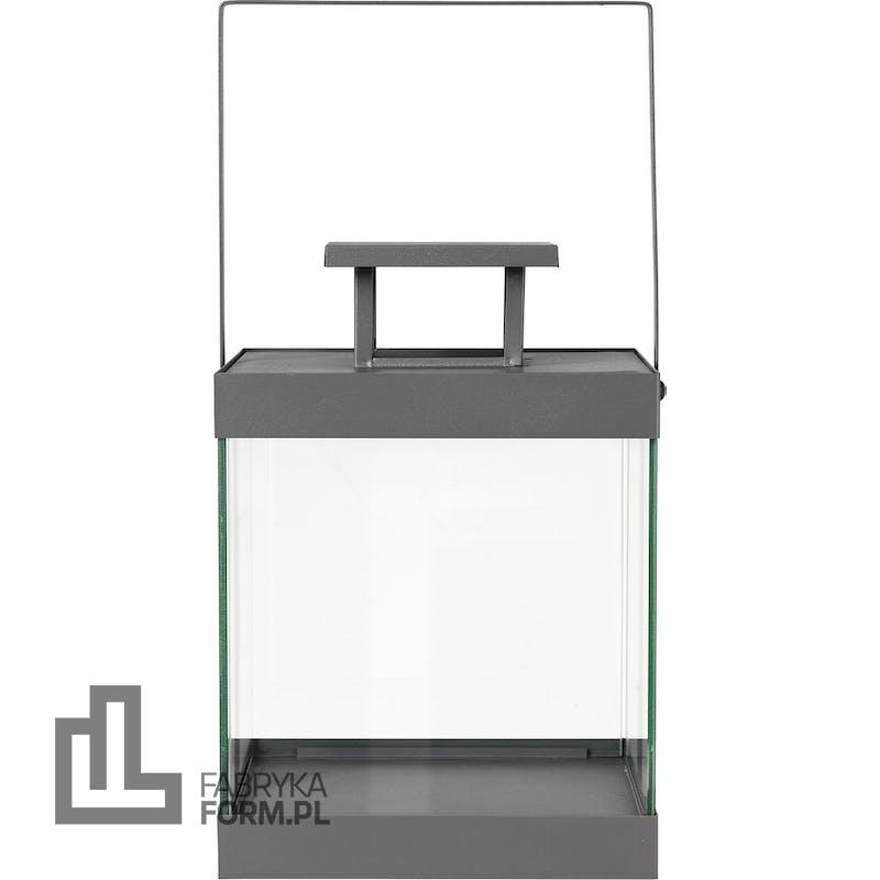 Latarnia Finca 30,5 cm steel gray