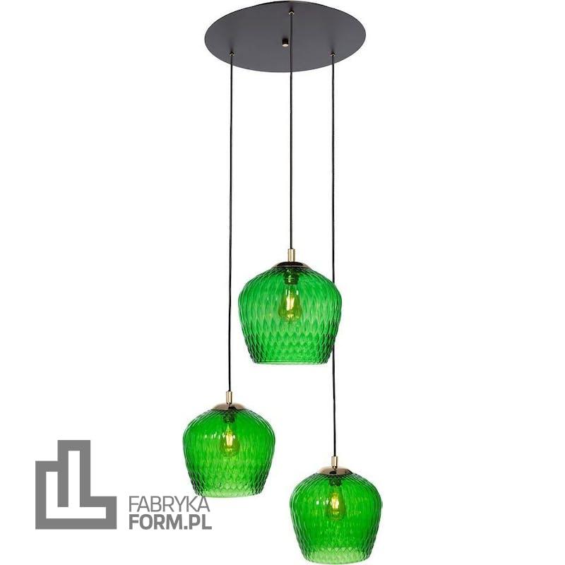 Lampa wisząca Venus 148 cm zielona